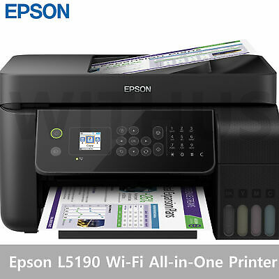 Epson L5190 Wi-Fi All-in-One Ink Tank Printer with ADF 100-240V