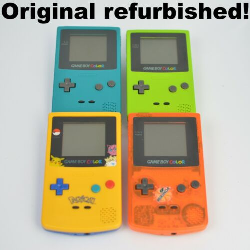 *Refurbished* Nintendo GameBoy Color CGB-001 Authentic New Shell & New Lens