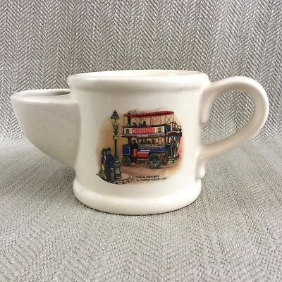 Vintage Shaving Mug Wade Pottery Thornycroft Victorian Omnibus Steam Engine for sale  Shipping to Ireland