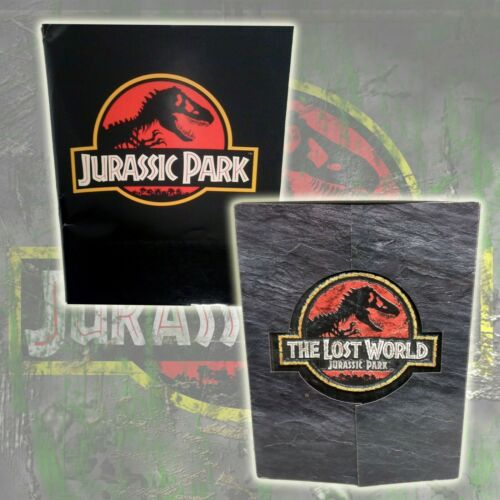 Jurassic Park 1992  & The Lost World: JP 1997 Original Studio Press Kits pair
