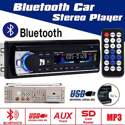 MP3 Player Auto Radio USB/SD Bluetooth FM Stereo AUX-IN LCD WMA + Fernbedienung ()