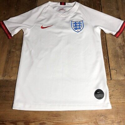 Nike England Football Soccer 2019-20 Women's WC Home Jersey White Youth Medium image