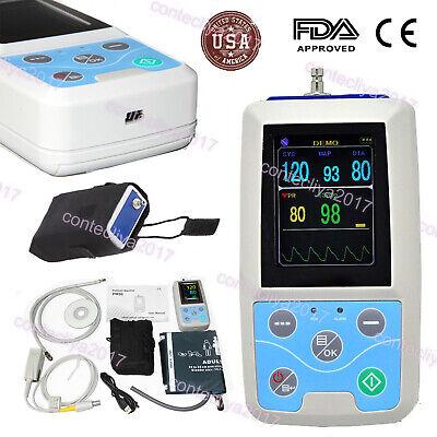 Pm50 Icu Ccu Vital Signs Patient Monitor Contec Nibp Spo2 Pulse Rate Meterusa