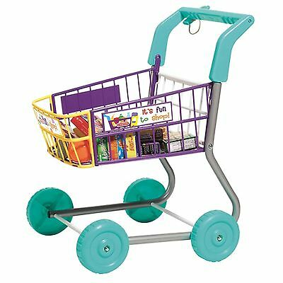 CASDON SHOPPING TROLLEY TOY - LITTLE SHOPPER - NEW FUN