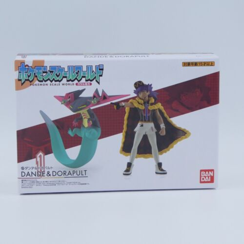 BANDAI Pokemon Scale World Galar Region Leon & Dragapult 1/20 Figure Dande
