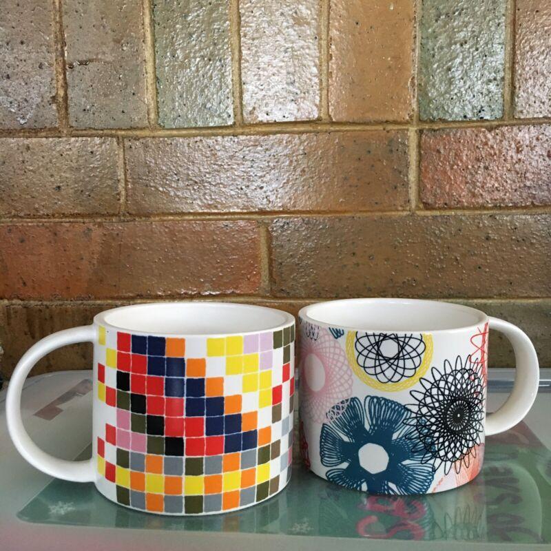 Kate Spade Saturday Mugs Set of 2