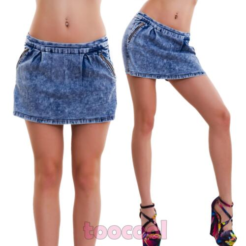 Neuf Hot Mini Jeans Moulant Short Femme Skinny Jupe Haleter OU4Txc8qzw