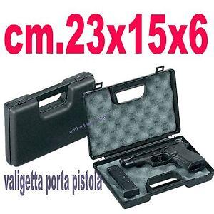 VALIGETTA-PORTA-PISTOLA-23x15x6-PER-CACCIA-ARIA-COMPRESSA-POLIGONO-QQ