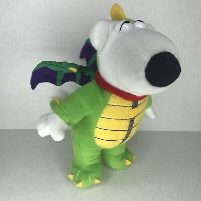 Simpsons Family Costumes (Family Guy Plush Brian Dog Dragon Costume Stuffed Animal)