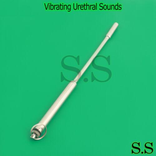"""Extra Long Urethral Sound Vibration Sound 12"""" Urethral Sounds"""