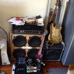 4 X 10 inch guitar cab with Fane Speakers Tamarama Eastern Suburbs Preview