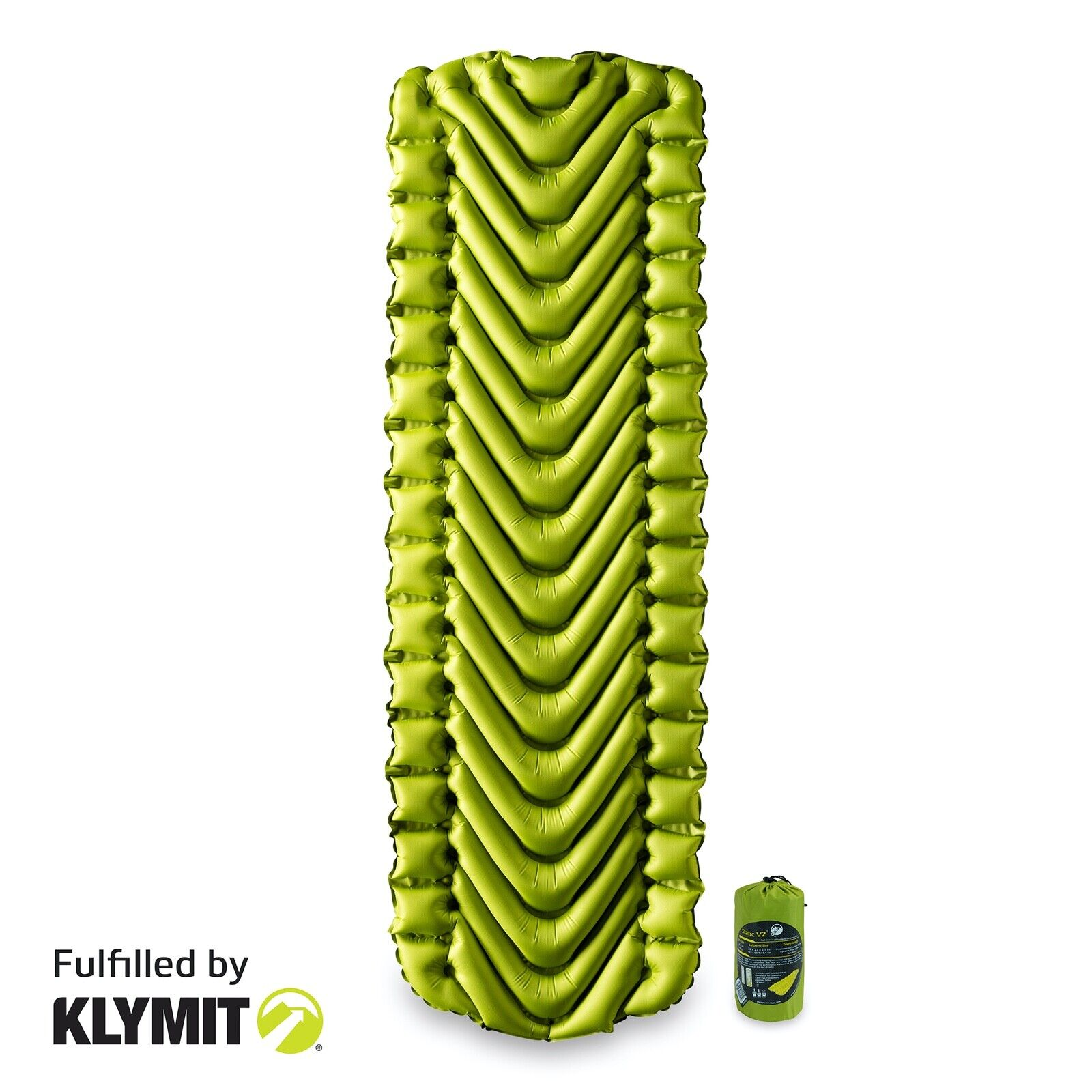 Klymit Static V2 Sleeping Camping Air Pad Ultra-Light - Fact