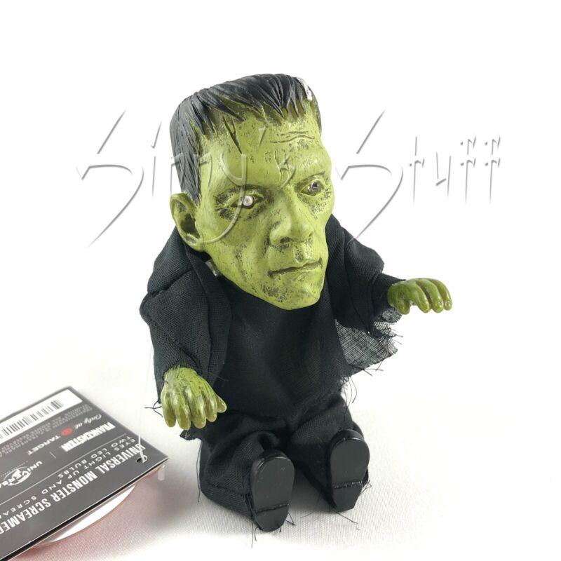 Animated Monsterville Frankenstein Pocket Screamer w Creature Black Lagoon Voice