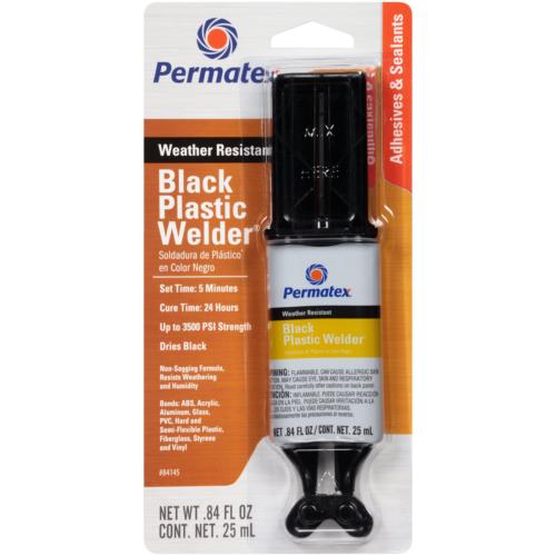 Permatex 84145 Permapoxy Black Plastic Weld - 0.84 fl. oz.