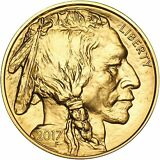 2017 American Gold Buffalo 1 OZ ($50) UNC RAW