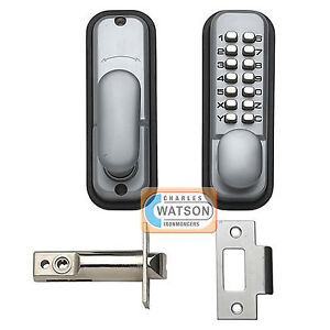 Digital-Push-Button-Door-Lock-Key-Pad-Code-Combination-Access-Mechanical