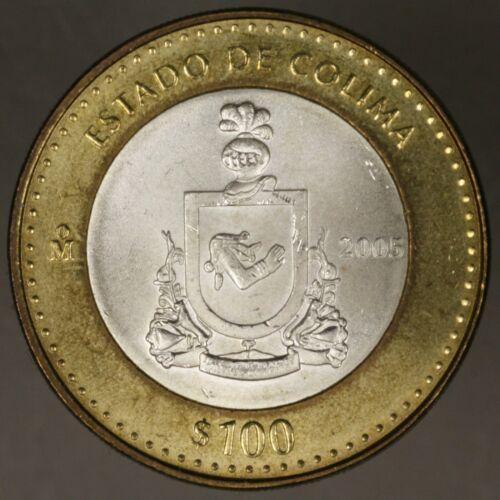 Mexico 2005 100 Peso Colima BU