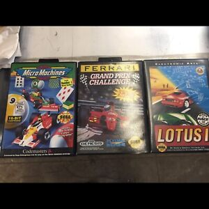Micro machines and others for sega genesis