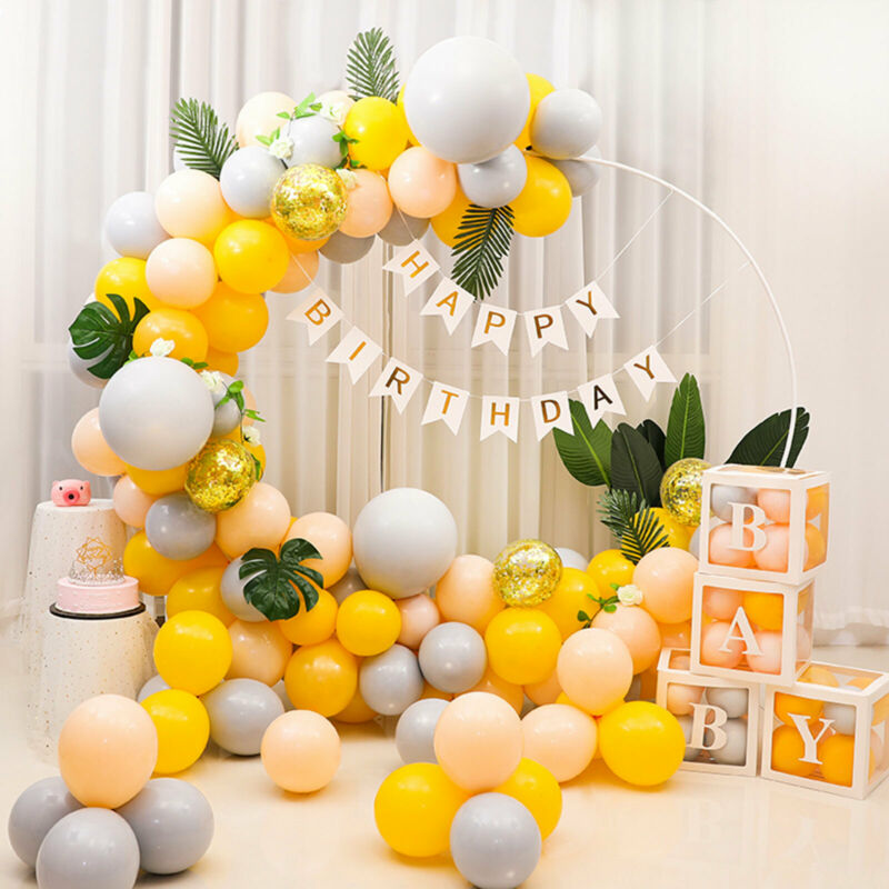 2m Round Wedding Arch Flower Backdrop Archway Metal  Balloon Stand Party Decor