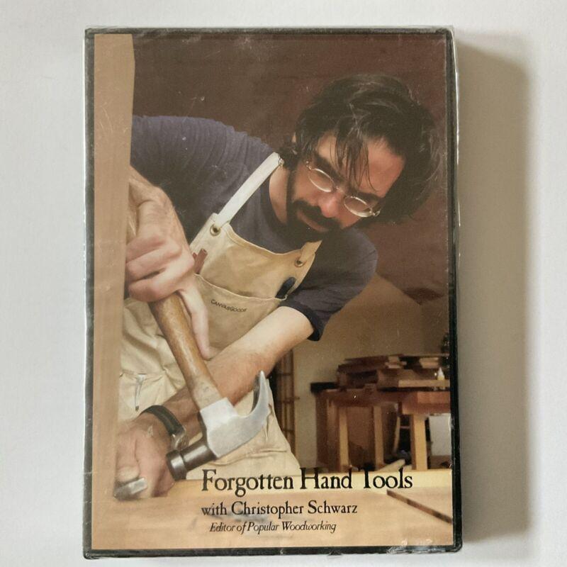 Forgotten Hand Tools w Christopher Schwarz DVD FACTORY SEALED