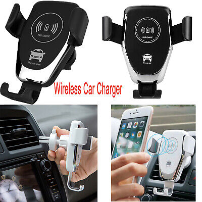 Premium Wireless Car Charger NEW BEST 2019 USA Universal Charger Phone Holde