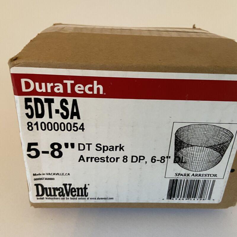 "DuraTech 5-8"" DT Spark Arrestor 8 DP 810000054 NEW"