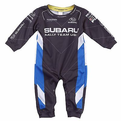 Official Subaru Baby Romper Driving Suit Rally Team Usa Wrx Sti Impreza New