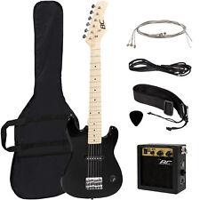 BCP 30in Kids Electric Guitar Starter Kit w/ 5W Amp, Strap, Case