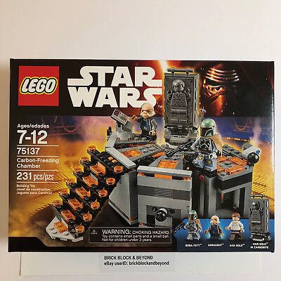 LEGO Star Wars 75137 Carbon-Freezing Chamber New Sealed
