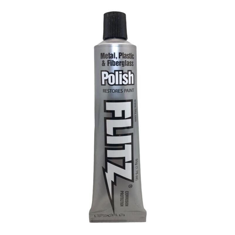 Flitz Multi-Purpose Polish and Cleaner Paste for Metal, Plastic Fiberglass, 1.75