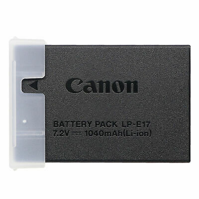 New Genuine Canon LP-E17 Battery For EOS 750D 760D M3 M5 M6 Rebel T6i T6S X8i