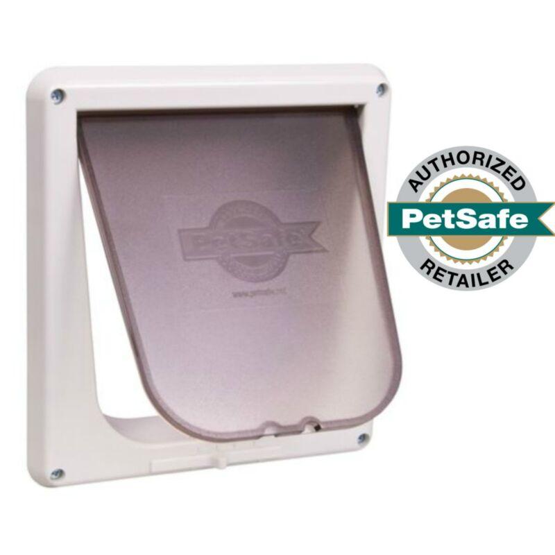 PetSafe 4-Way Locking Indoor Cat Door White P1-4W-11