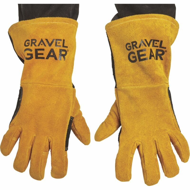 Gravel Gear MIG/Stick Welding Gloves - Premium Split Cowhide Leather