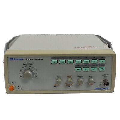 Gw Instek Gfg-8215 Analog Function Generator Fast Shipping