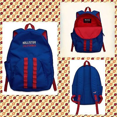 Hollister Backpack Mens Backpack Blue New with tags