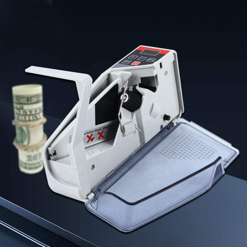 Portable Bill Cash Money Count Machine Mini Banknote Currency Counter New
