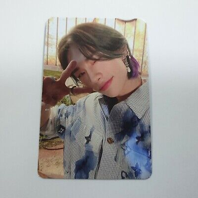 Stray Kids 2nd NOEASY Official Original Hyunjin Photocard K-POP Photo Card green