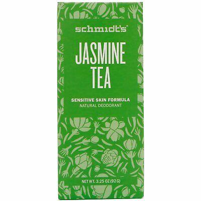 - Schmidt's Naturals Deodorant Sensitive Skin Formula Jasmine Tea 3.25oz, 1 Pack