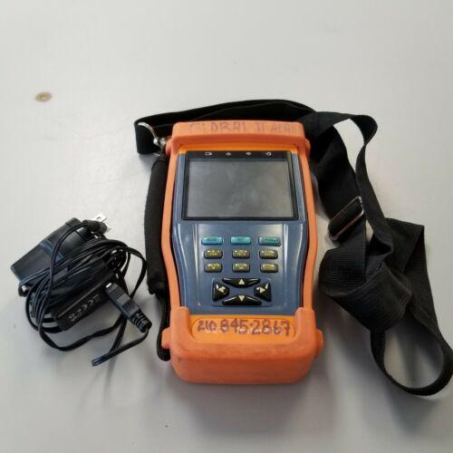 CCTV TesterPro Model STest-893, Tester, Case & AC Adapter (No Cables)