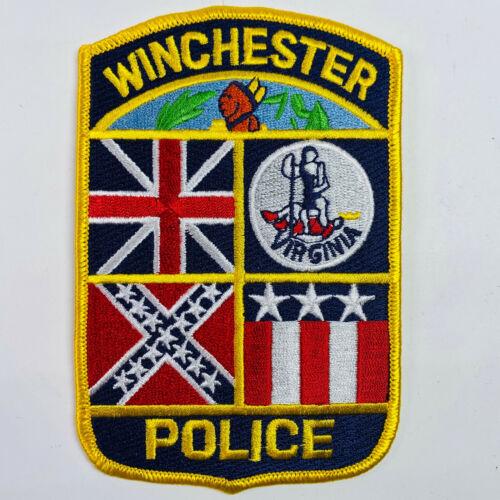 Winchester Police Virginia VA Patch (A8-A)