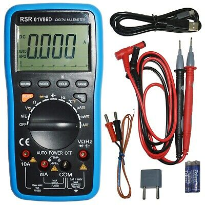 Digital Multimeter Autoranging With Usb Interface