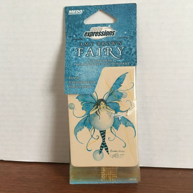 Medo Auto Expressions, Amy Brown Fairy Air Freshener Fragrance - Vintage Images