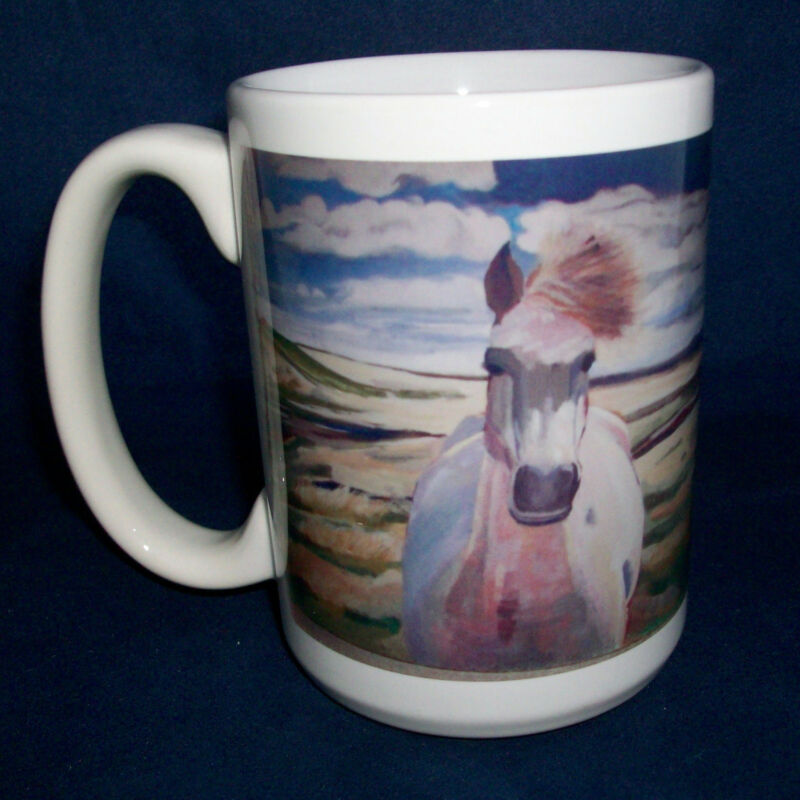Coffee Mugs Choose Horse Koi Fish Or Red Fox Artist Designed Ceramic Cups