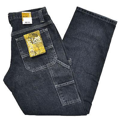Lee Dungarees Carpenter Fit Mens Jeans Quartz Stone Denim Jean 30 32 34 36 38 - Lee Dungarees Carpenter Jeans