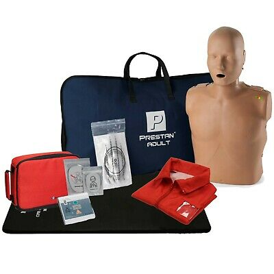 Cpr Training Kit W. Adult Manikin With Feedback Aed Practi-trainer Essentials