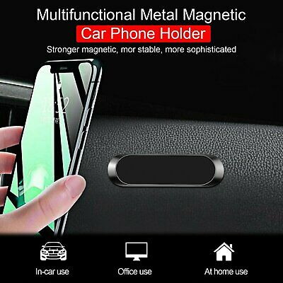 Mini Strip Shape Magnetic Car Phone Holder Stand For iPhone Samsung Magnet Mount Cell Phone Accessories