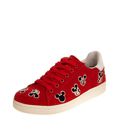 RRP €105 MOA MASTER OF ARTS x DISNEY Leather Sneakers Size 32 UK 13 US 13.5