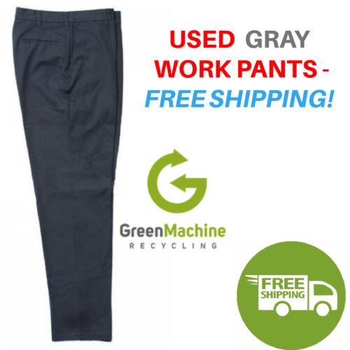 Used Uniform Work Pants Cintas Redkap Unifirst G&k Dickies Free Shipping