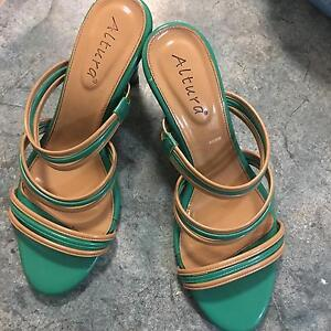 Very cute green and brown sandle (size 10) Garbutt Townsville City Preview