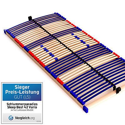 Lattenrost (Qualitäts-Lattenrost 7 Zonen Maße 90x200cm 140x200cm 90x190cm 80x200cm günstig)